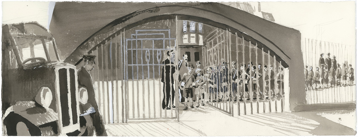 Scotland Street School Illustration